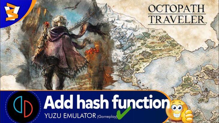 Yuzu Mainline 711 (OpenGL) – Octopath Traveler (Playable/Latest!!)